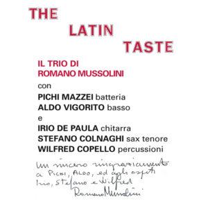 Il Trio di Romano Mussolini <br />THE LATIN TASTE